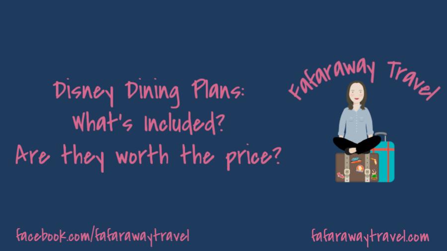 Disney Dining Plans at Walt Disney World