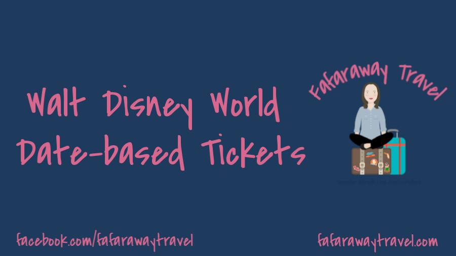 New Walt Disney World Ticket Pricing Structure