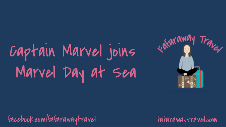 Captain Marvel joining Marvel Day at Sea on Disney Cruise Line