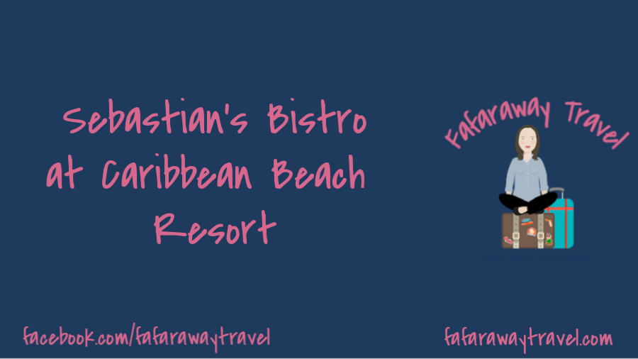 Sebastian's Bistro- A Great New Table Service Restaurant