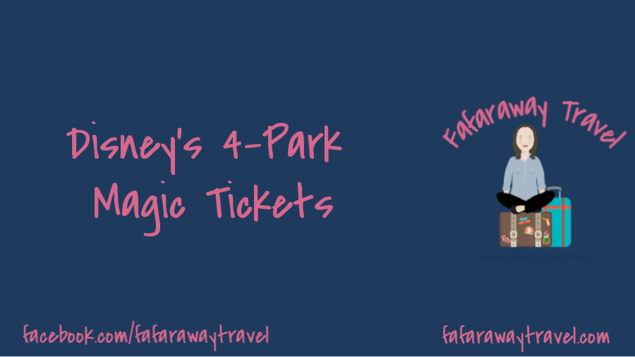 4-Park Magic Tickets for Walt Disney World