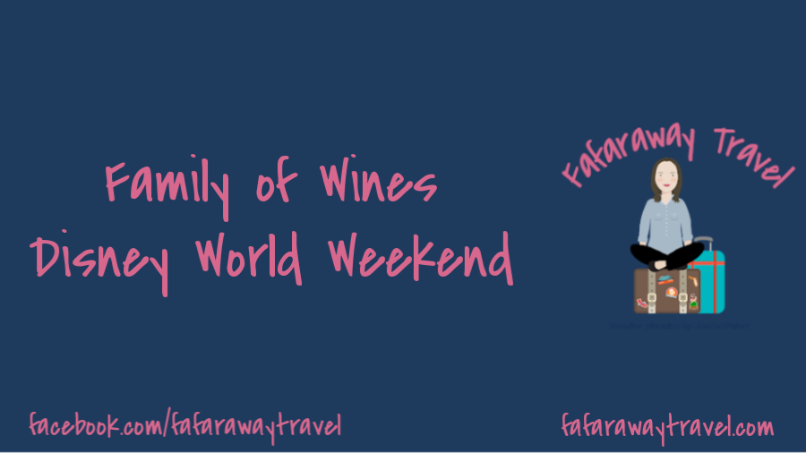 Family of Wines Weekend at Disney's Contemporary Resort