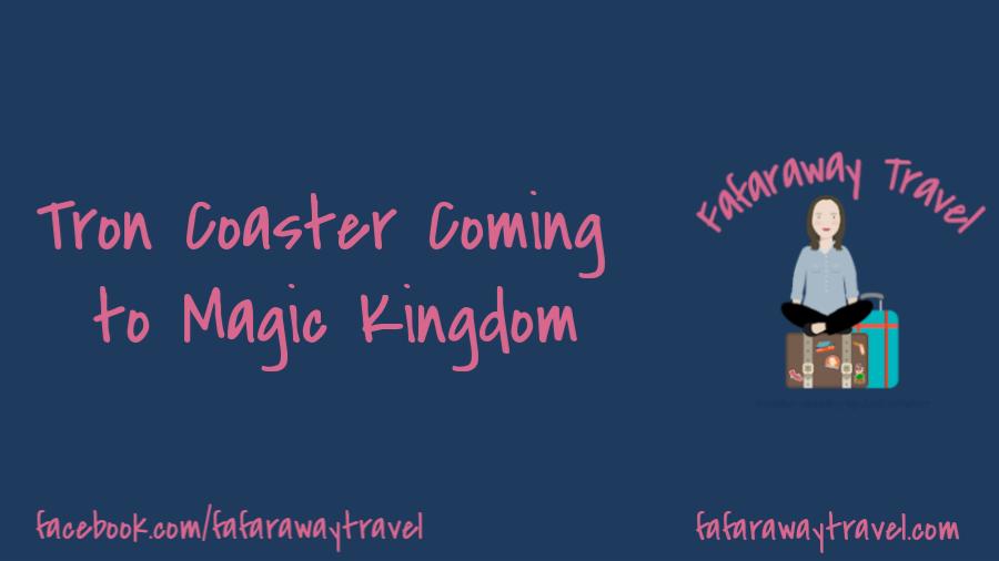 Tron Coaster coming to Magic Kingdom at Disney World