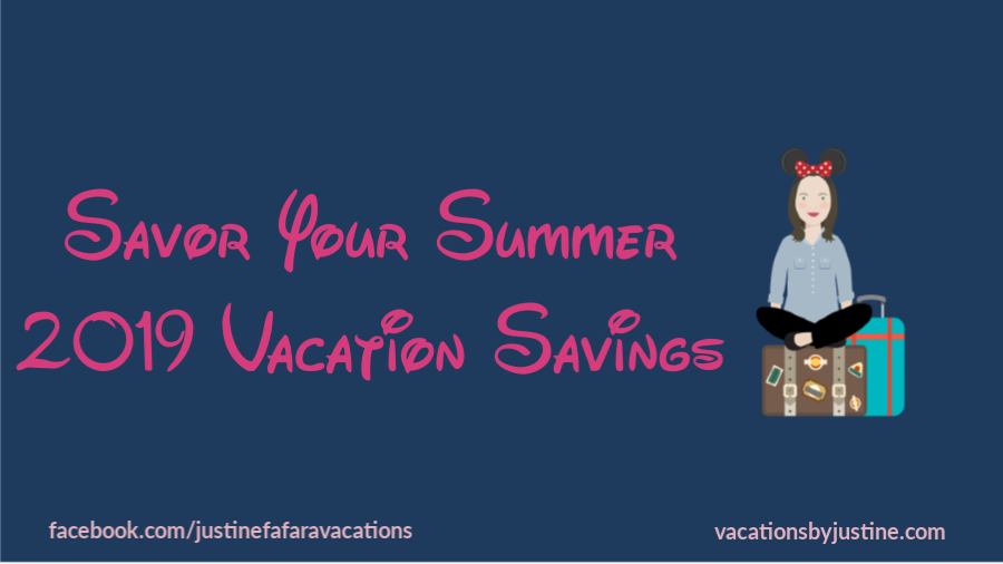 Savor Your Summer- Disney World Savings for Summer Vacation!