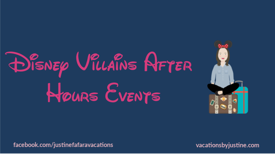 Disney Villains After Hours Events in Magic Kingdom at Walt Disney World