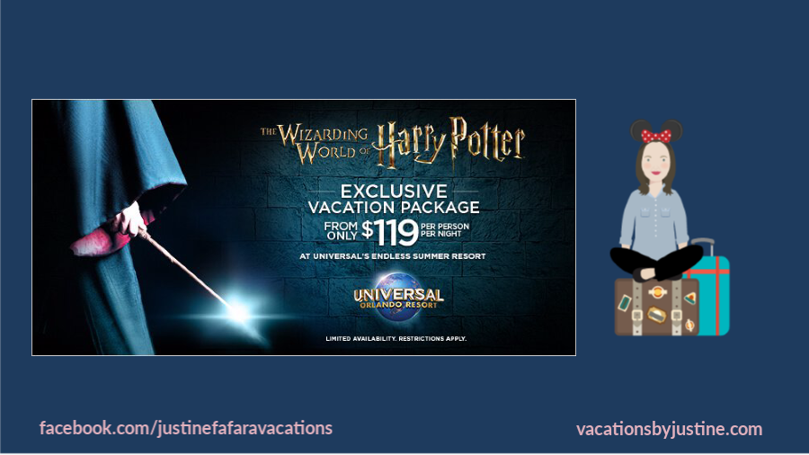 Harry Potter world, Harry Potter land, wizarding world of Harry Potter, Harry Potter theme park, Universal Orlando, Harry Potter vacation package, Harry Potter exclusive vacation