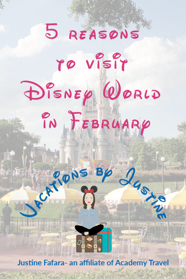 best time to visit Disney World, best time for Disney Vacation, best time of year for Disney World, when is the best time to go to Disney World, Disney World in February
