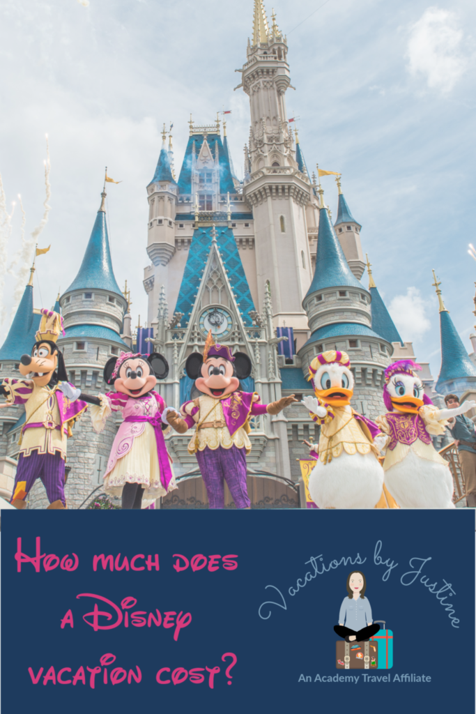 How much does a Disney Vacation cost, what is the cost of a Disney Vacation