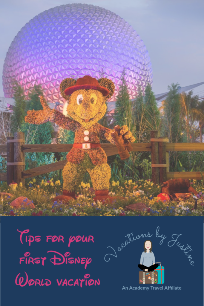 tips for planning first Disney World vacation, Disney World planning tips, tips and tricks for Disney World