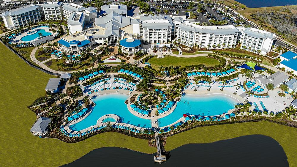 Margaritaville Resort, now part of the Disney Good Neighbor Hotel program