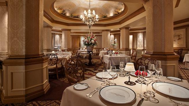 Victoria and Albert's signature dining at Walt Disney World