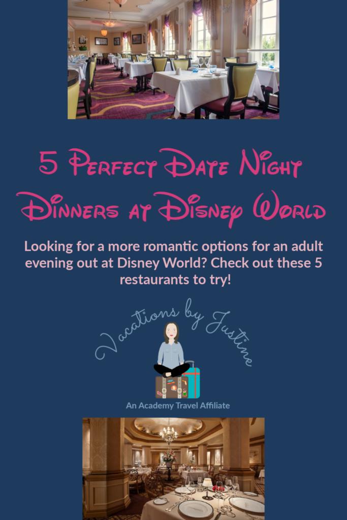 5 Date Night Dinners at Disney World