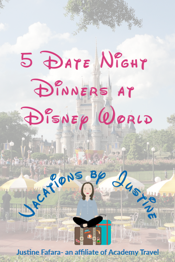 5 Date Night Dinners at Disney World