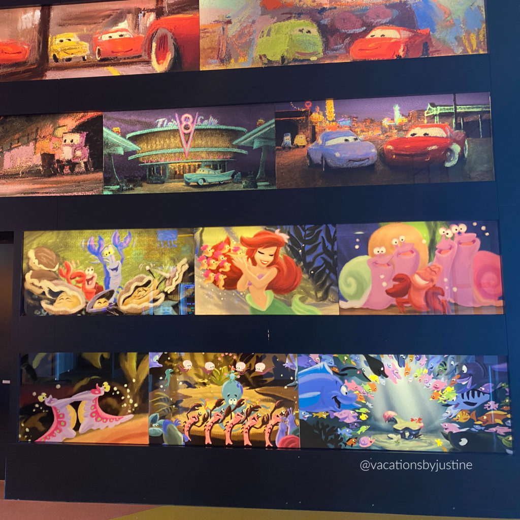Disney's Art of Animation Resort, Disney World Resorts, Art of Animation Resort Lobby, The Little Mermaid, Cars