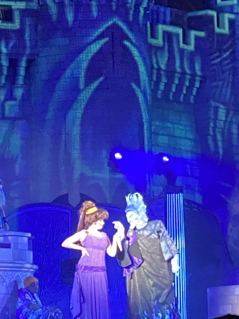 Disney Villains After Hours, Disney World Special Events, Hades, Meg, Hercules
