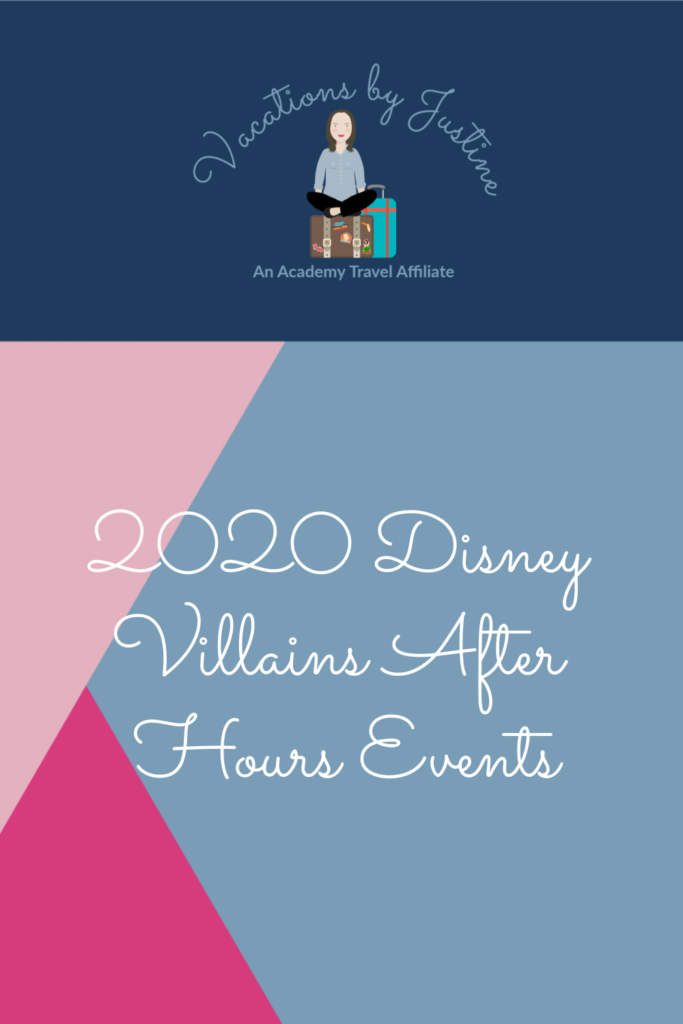 Disney Villains After Hours, Disney World Special Events