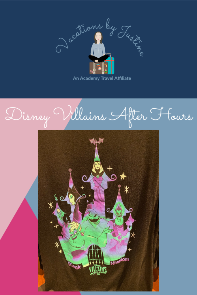 Disney Villains After Hours, Disney World Special Events, Disney Merchandise