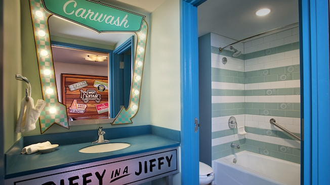 Disney's Art of Animation Resort, Cars themed hotel rooms, Family Suites