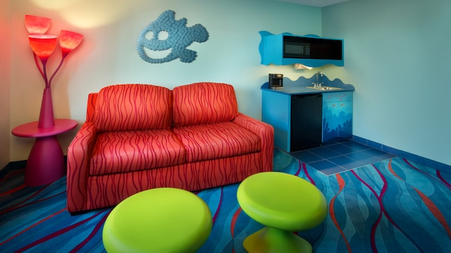 Disney's Art of Animation Resort, Finding Nemo themed hotel rooms, Family Suites
