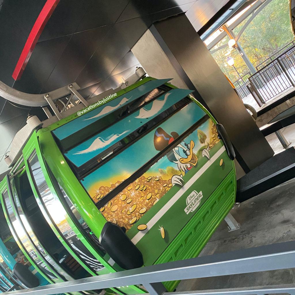 Disney's Skyliner, Scrooge McDuck, Ducktales, Disney transportation