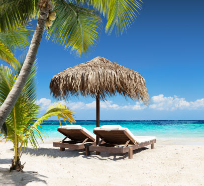 beautiful beaches on the Bahama Paradise Cruise on Grand Bahama Island