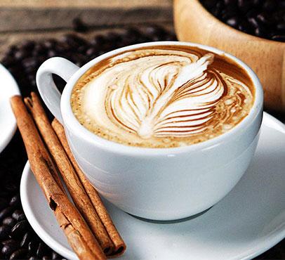 Lattetude coffee on the Grand Celebration Bahama Paradise Cruise Ship