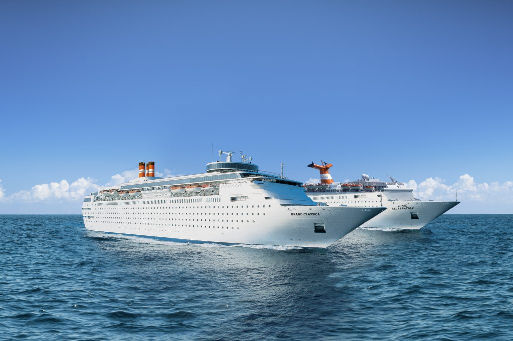 Bahama Paradise Cruise Line Fleet includes The Grand Celebration and The Grand Classica