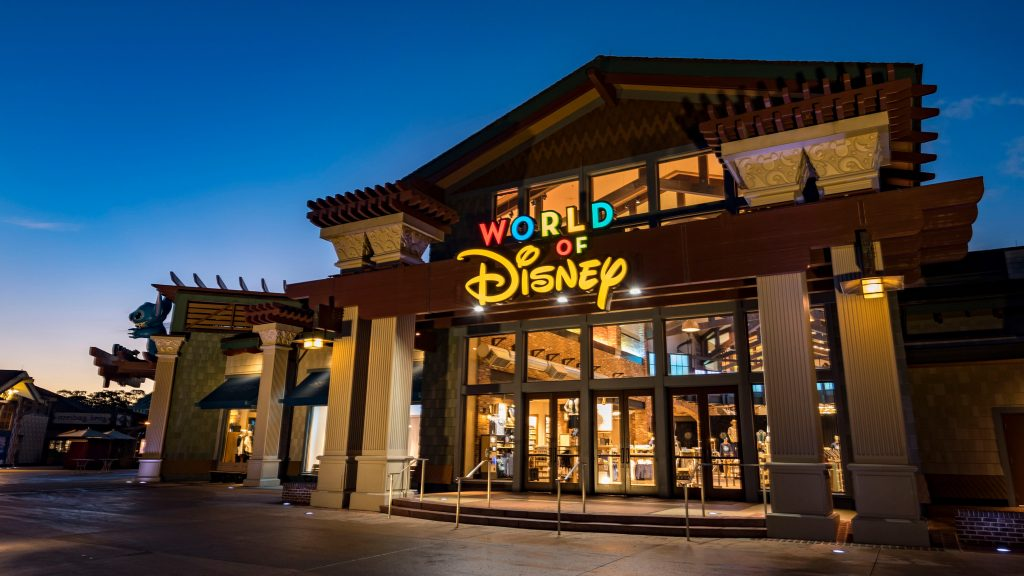 World of Disney store at Disney Springs