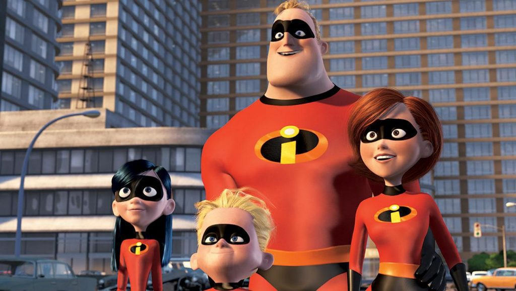 The Incredibles Disney Pixar movie